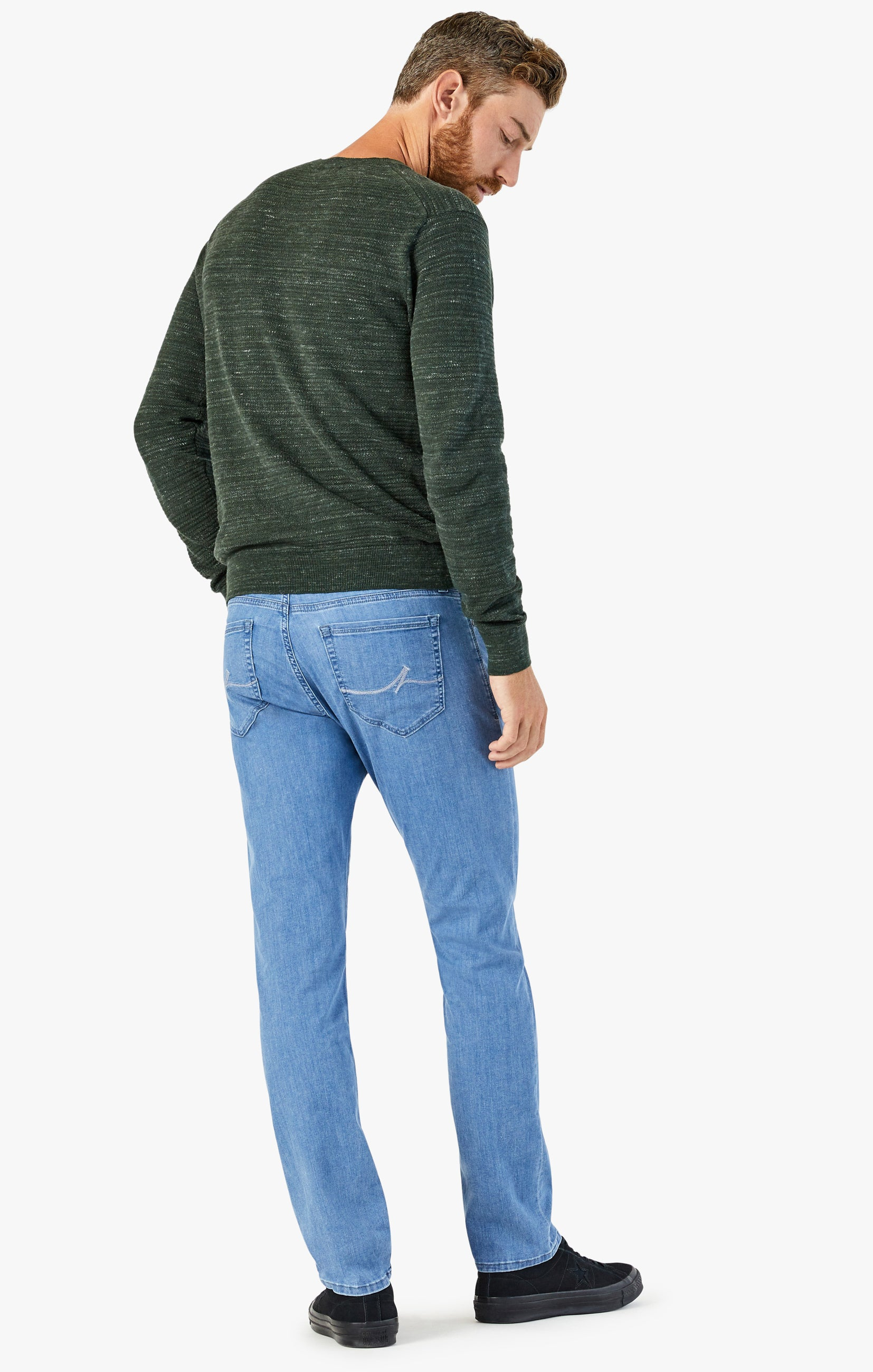 Courage Straight Leg Jeans In Light Kona Image 3