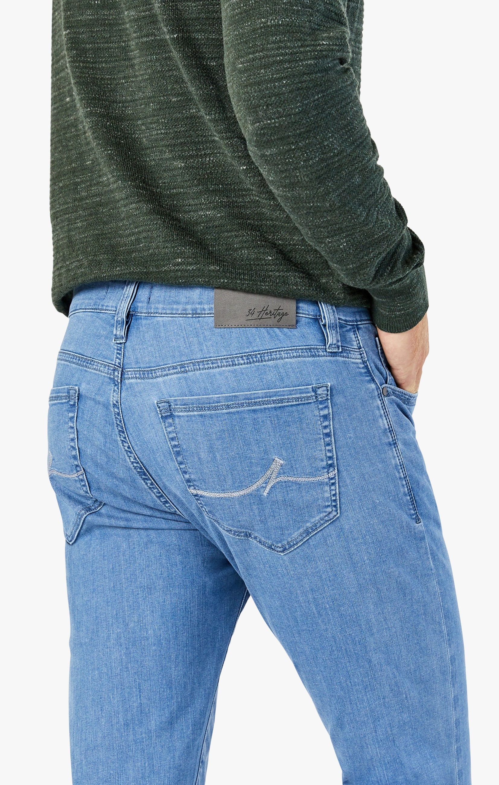 Courage Straight Leg Jeans In Light Kona Image 6