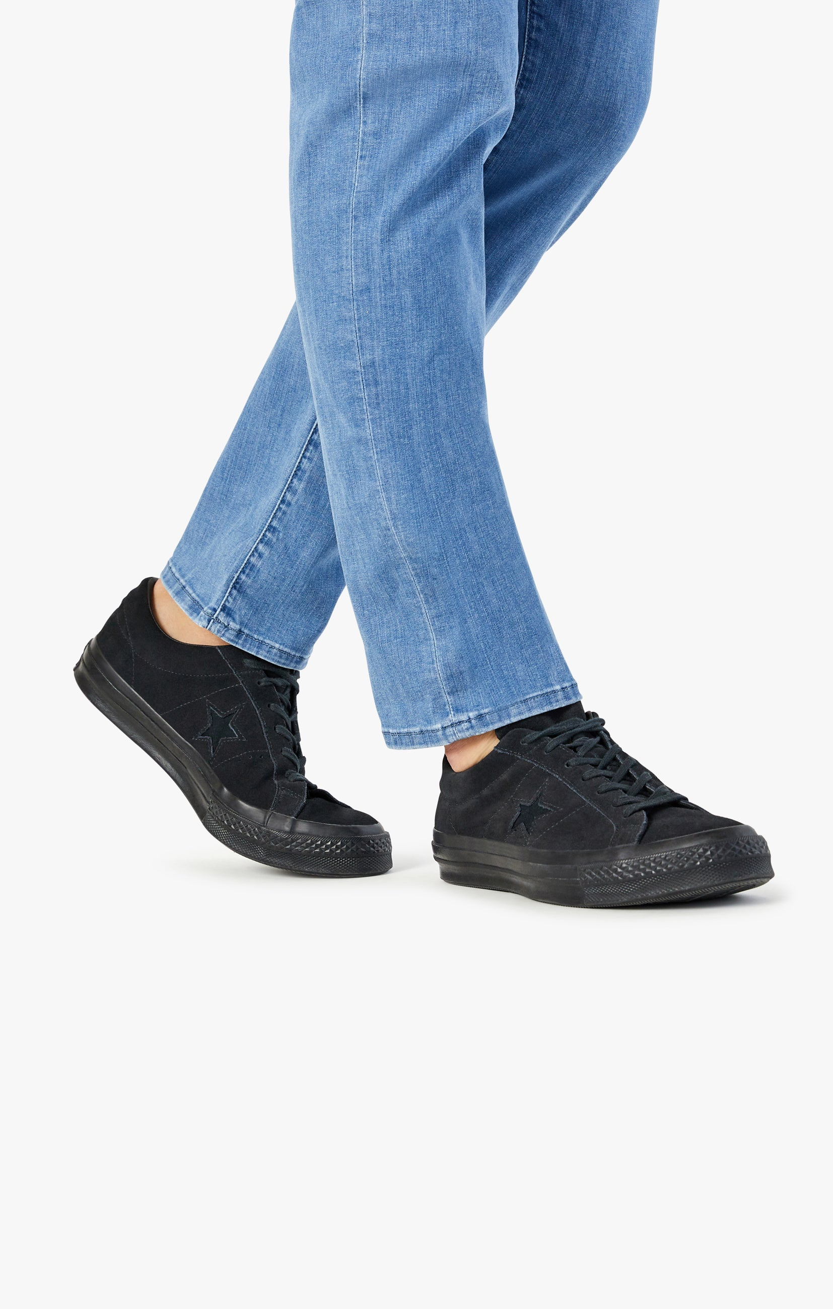 Courage Straight Leg Jeans In Light Kona Image 8