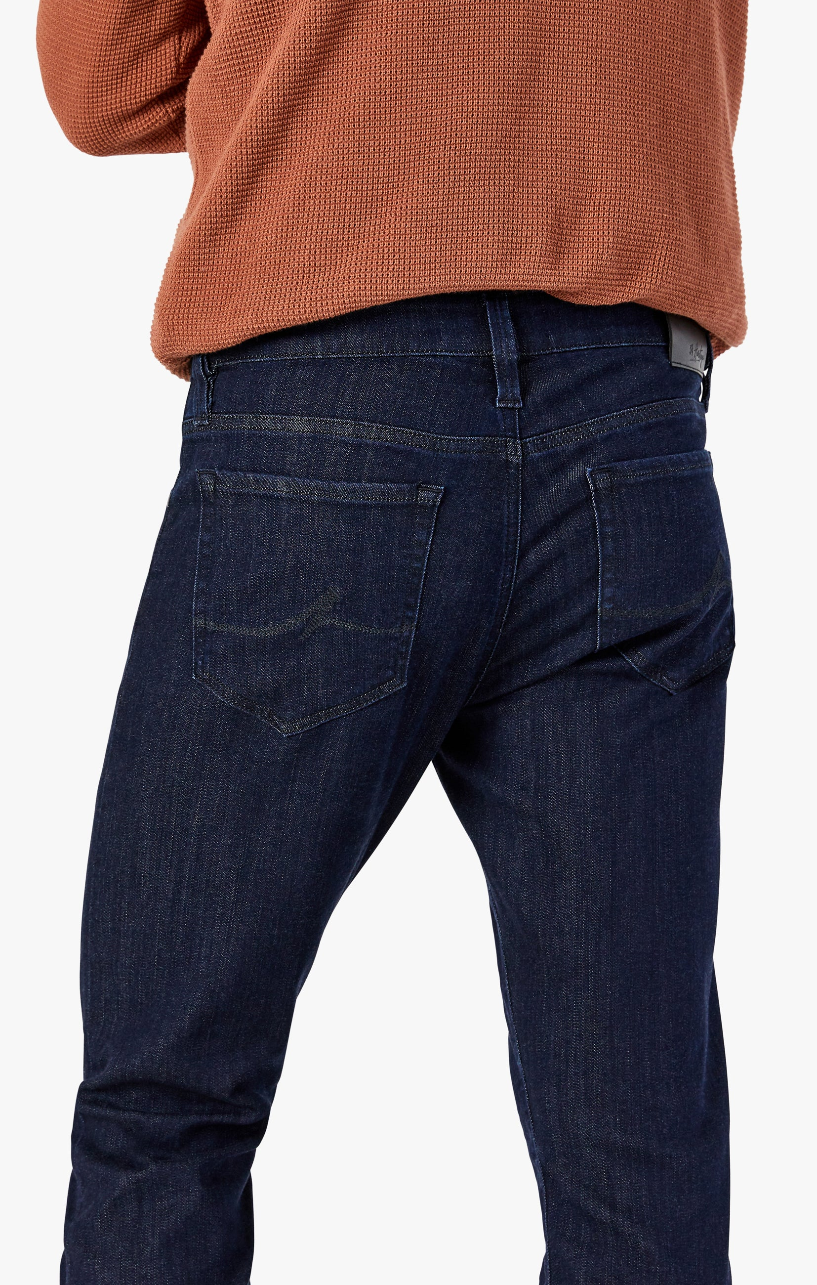 Courage Straight Leg Jeans In Rinse Ultra Image 6