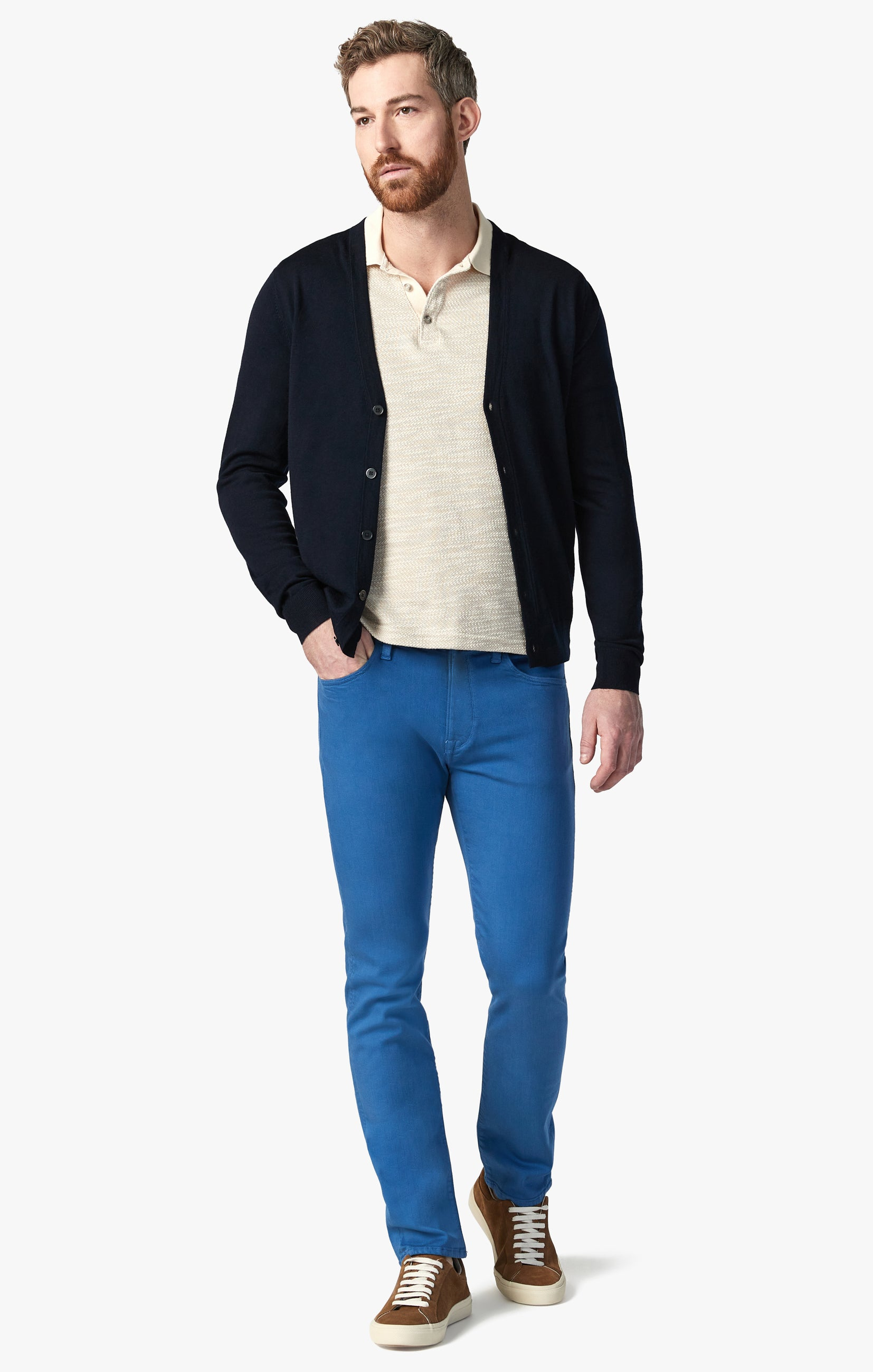 Courage Straight Leg Pants In Royal Comfort Image 1