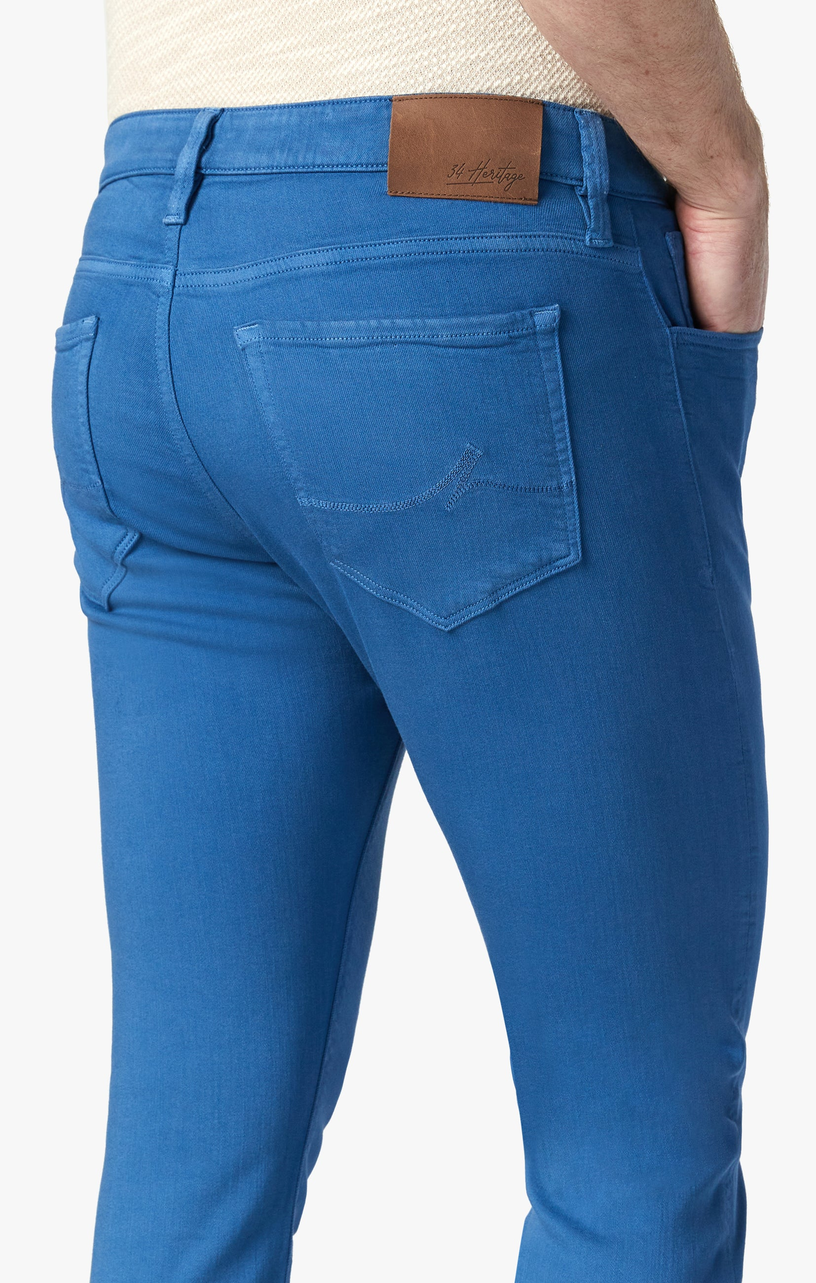 Courage Straight Leg Pants In Royal Comfort Image 4