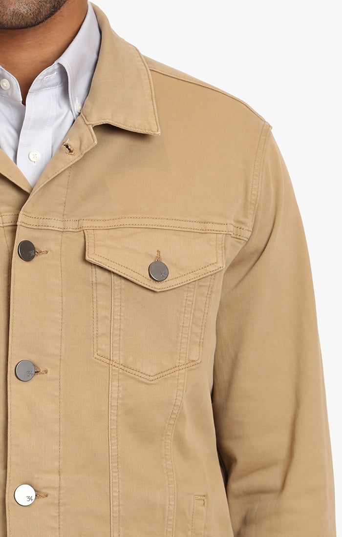 Travis Jacket In Golden Twill Image 1