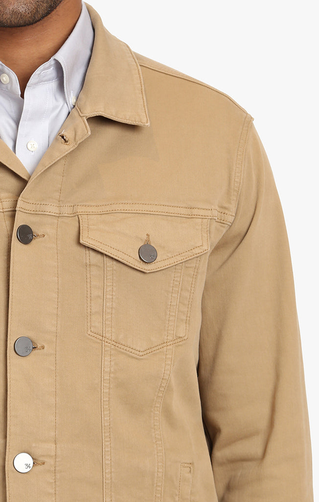 Travis Jacket In Golden Twill - 34 Heritage