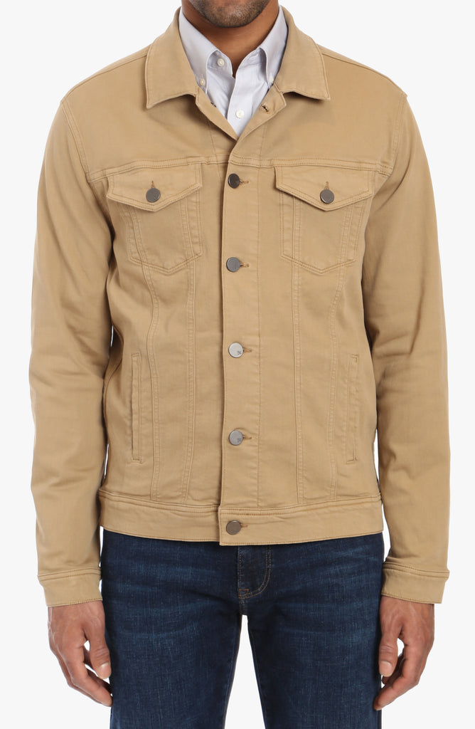 Travis Jacket In Golden Twill