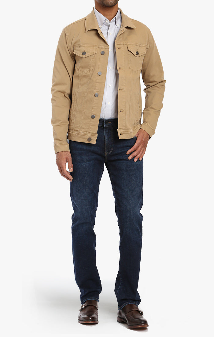 Travis Jacket In Golden Twill Image 2