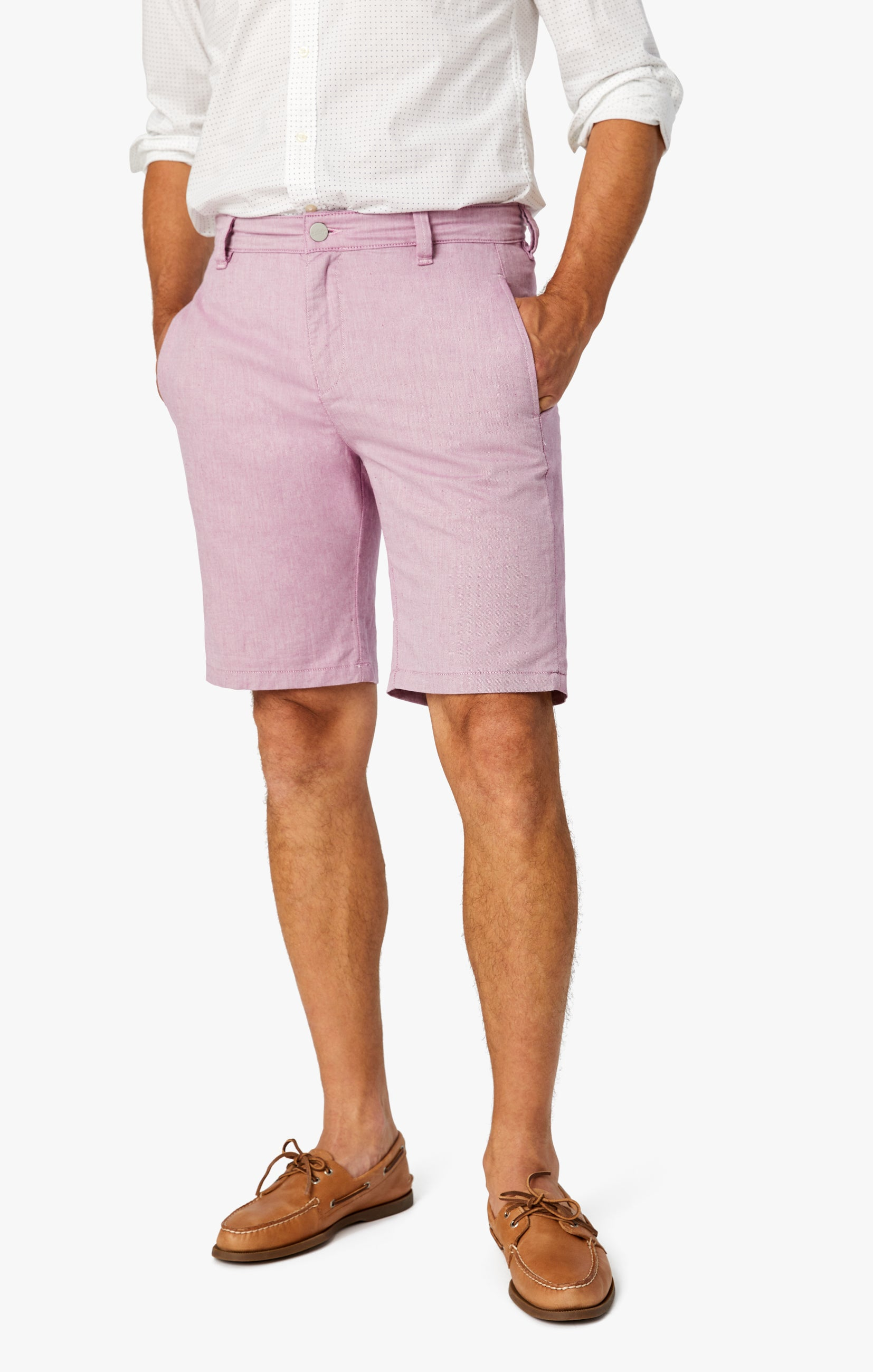 Nevada Shorts In Berry Luxe Reversed Image 9
