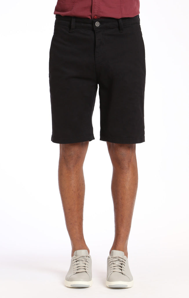 Nevada Shorts In Black Twill - 34 Heritage