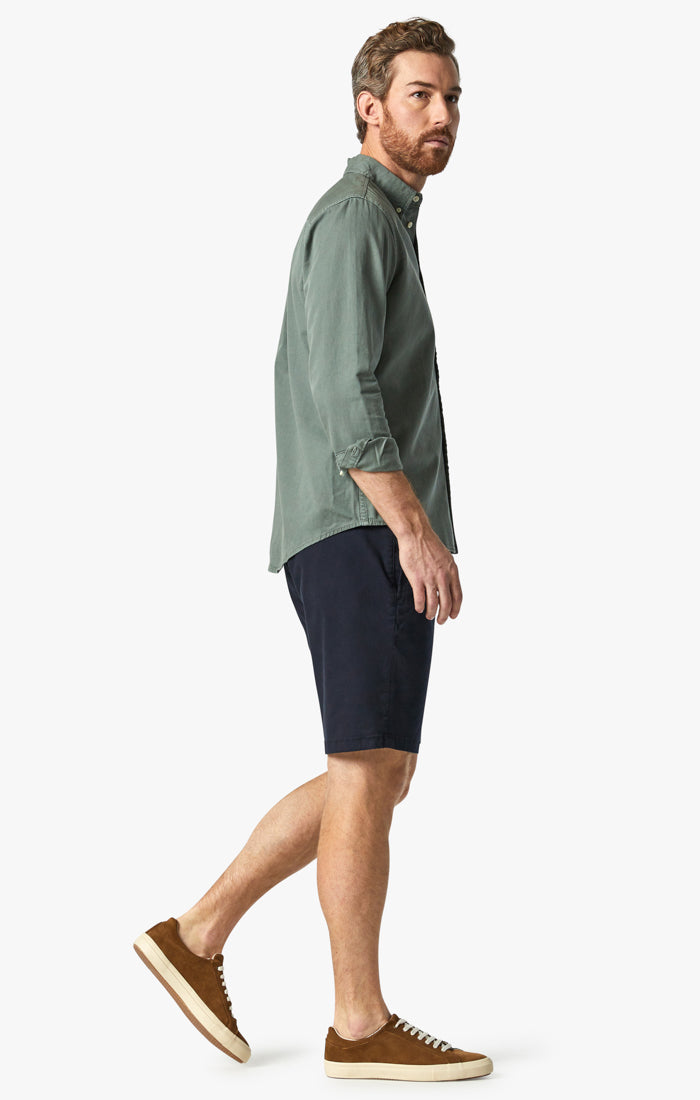 Nevada Shorts in Deep Navy Twill