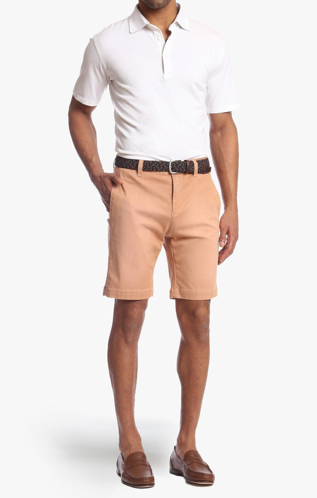 Nevada Shorts In Amber Washed - 34 Heritage