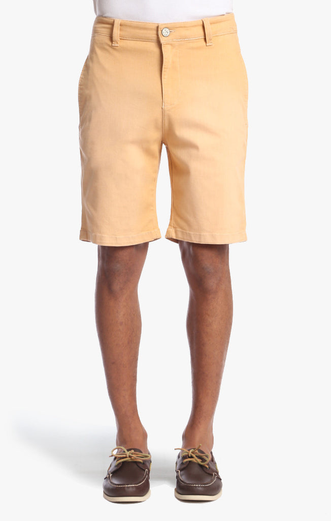 Nevada Shorts In Peach Washed - 34 Heritage