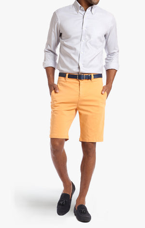 Nevada Shorts In Peach Twill - 34 Heritage