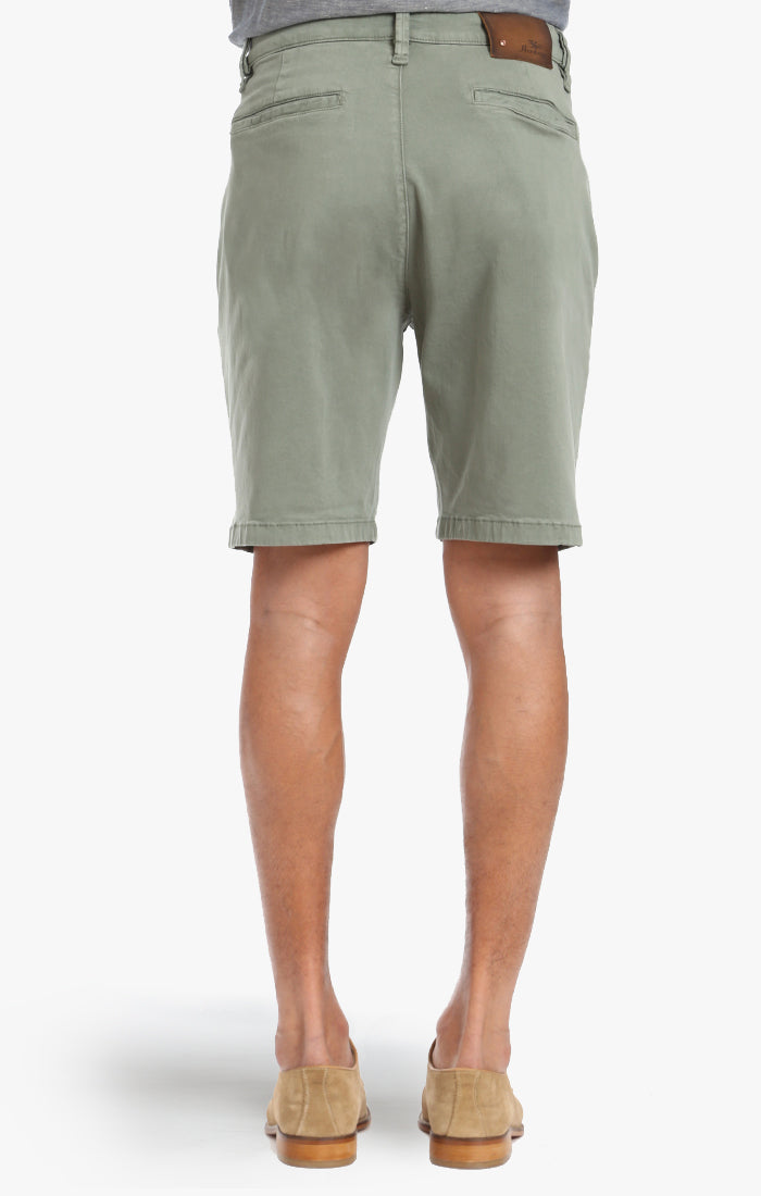 Nevada Shorts In Moss Twill Image 3