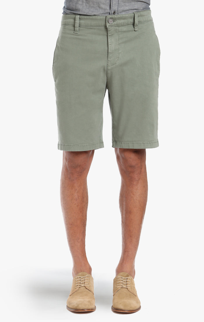 Nevada Shorts In Moss Twill Image 2