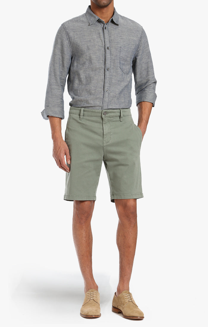 Nevada Shorts In Moss Twill Image 1