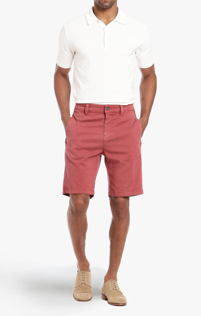 Nevada Shorts In Brick Dust Soft Touch - 34 Heritage