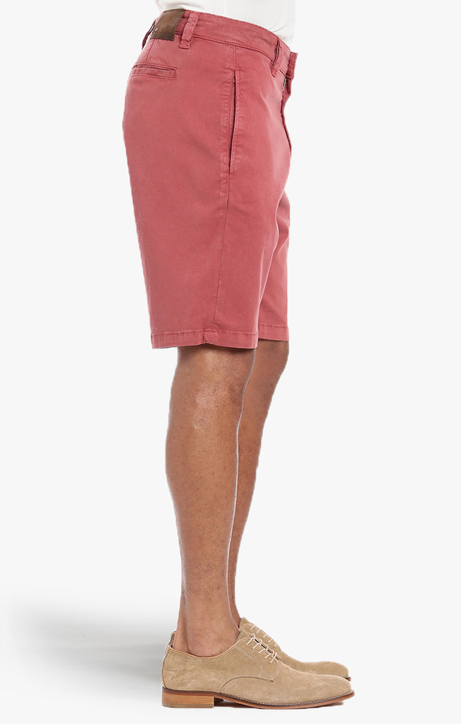 Nevada Shorts In Brick Dust Soft Touch