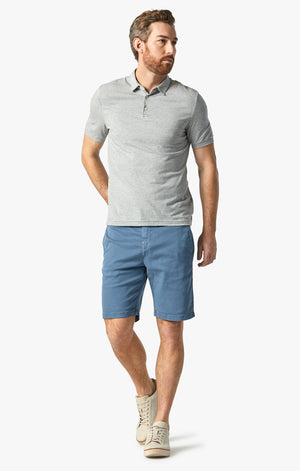 Nevada Shorts In China Blue Soft Touch