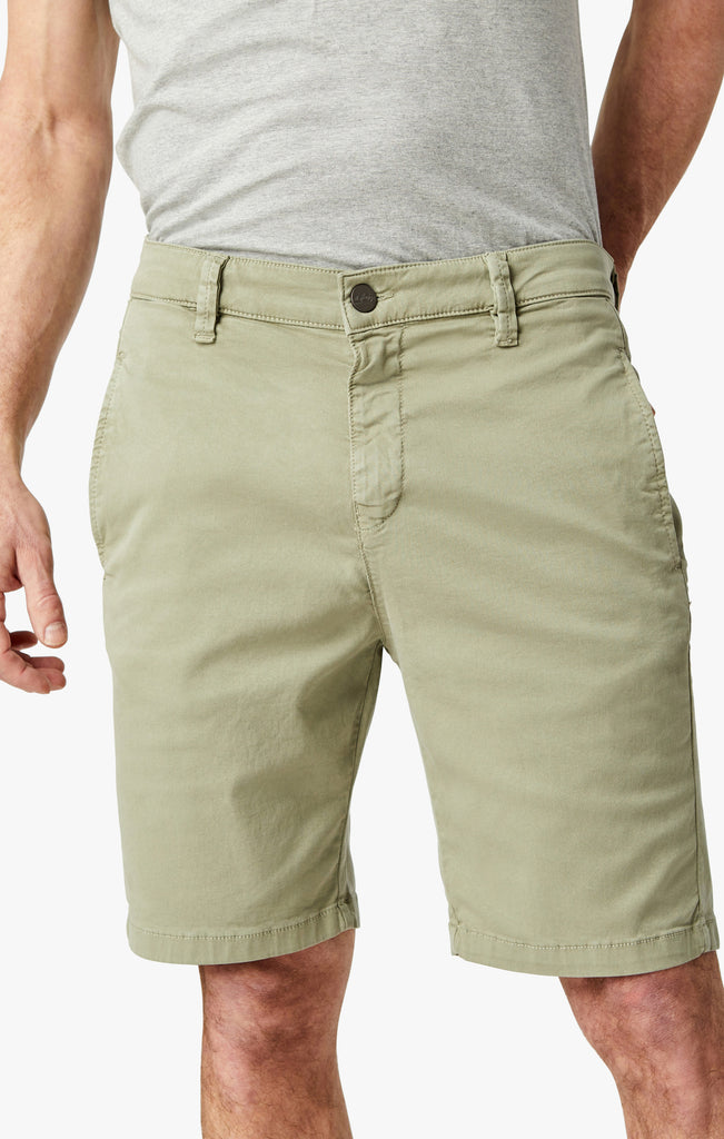 Nevada Shorts In Sage Soft Touch - 34 Heritage