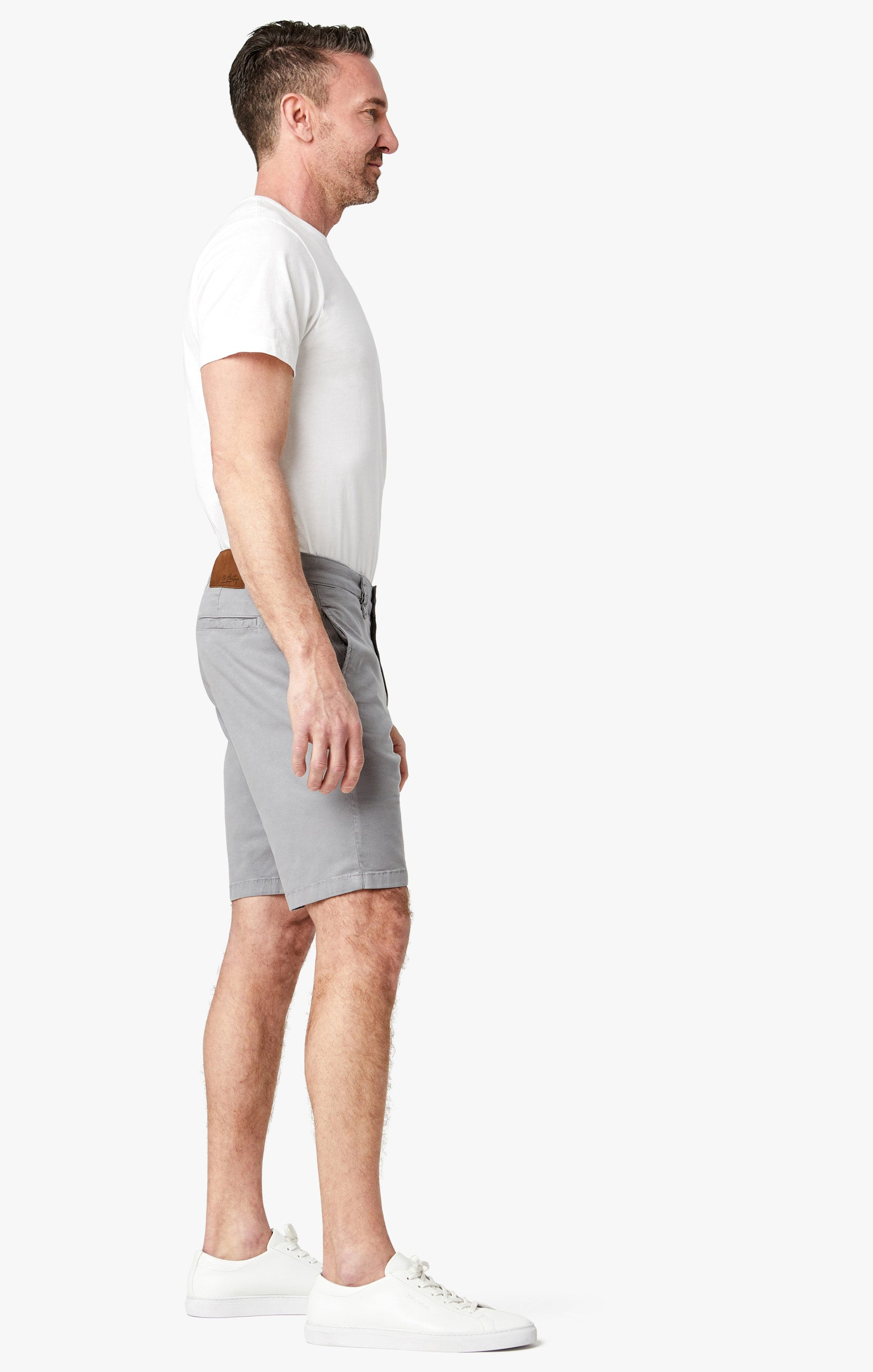 Nevada Shorts In Griffin Soft Touch Image 3