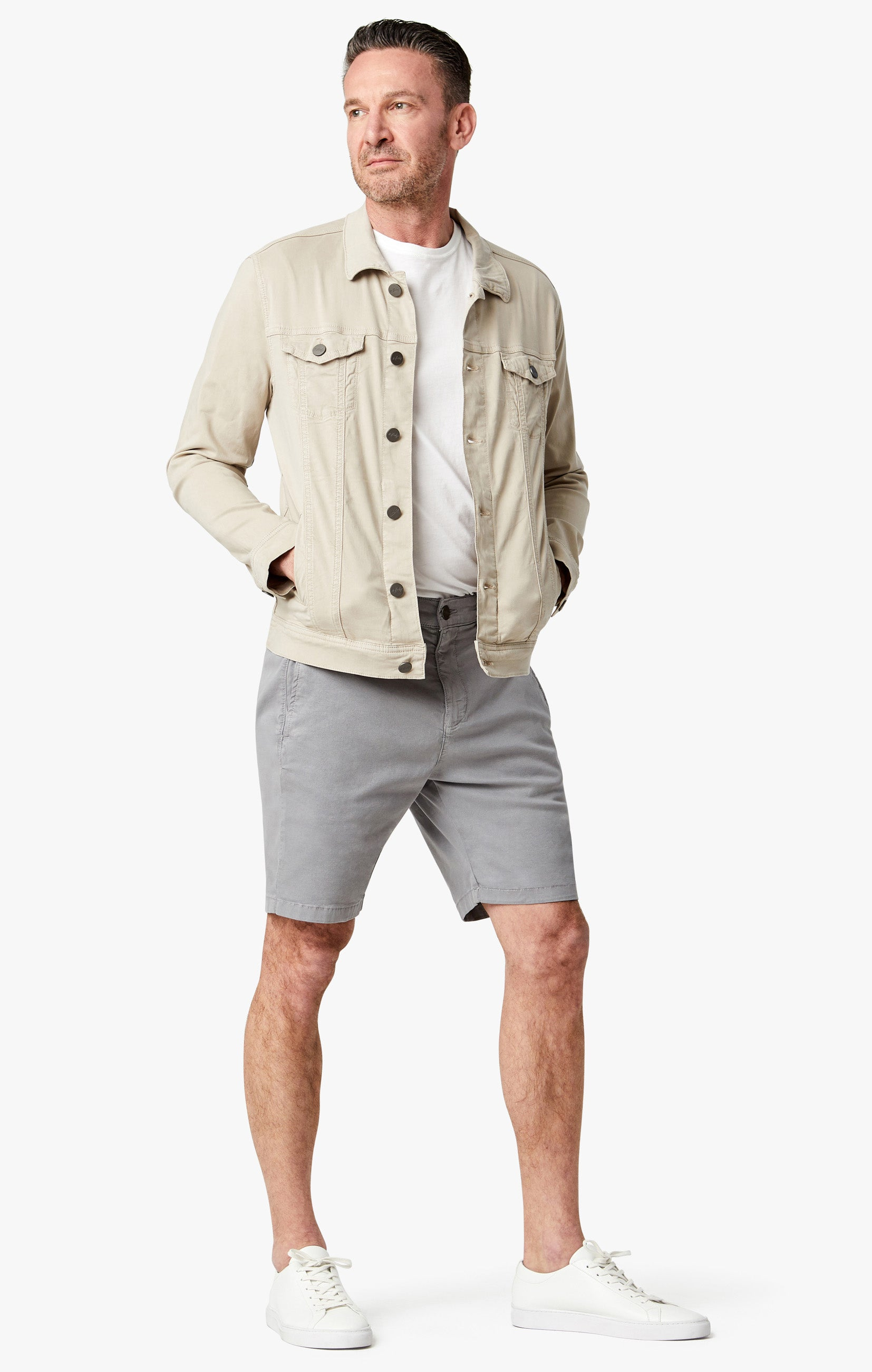 Nevada Shorts In Griffin Soft Touch Image 1