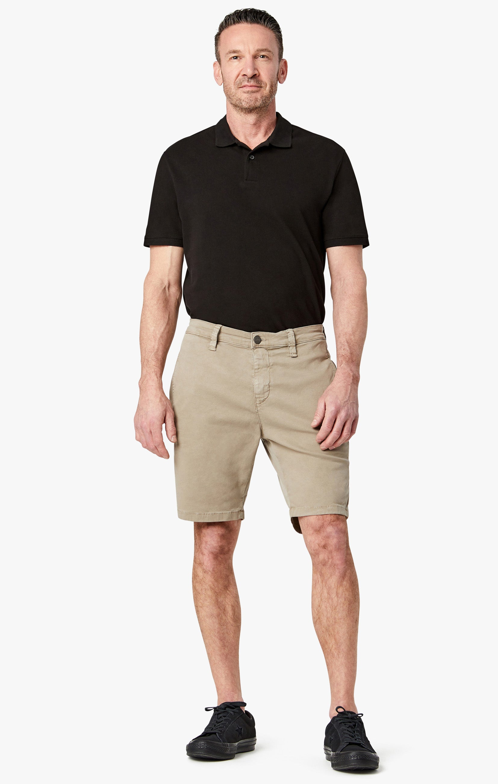 Nevada Shorts In Mushroom Soft Touch Image 1