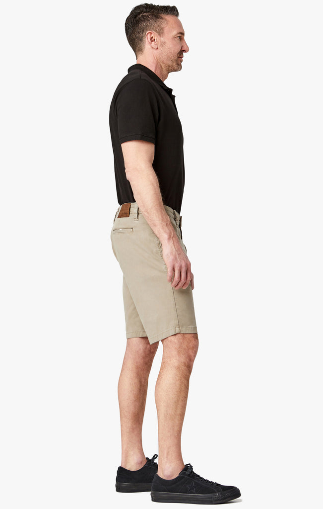 Nevada Shorts In Mushroom Soft Touch - 34 Heritage