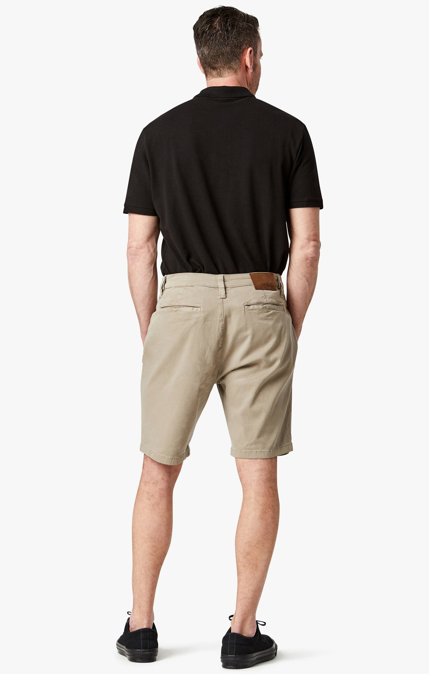 Nevada Shorts In Mushroom Soft Touch Image 3