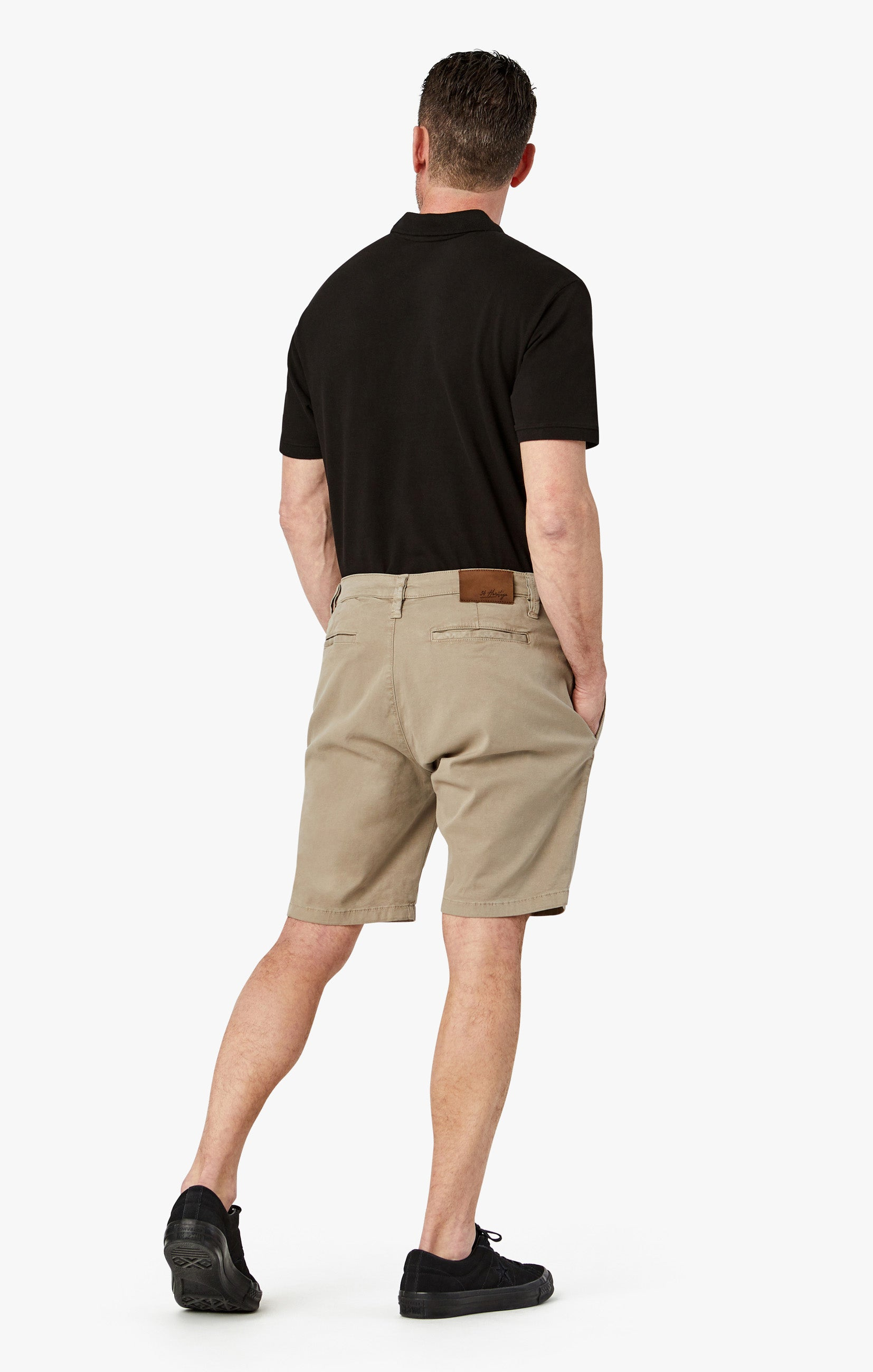 Nevada Shorts In Mushroom Soft Touch Image 6