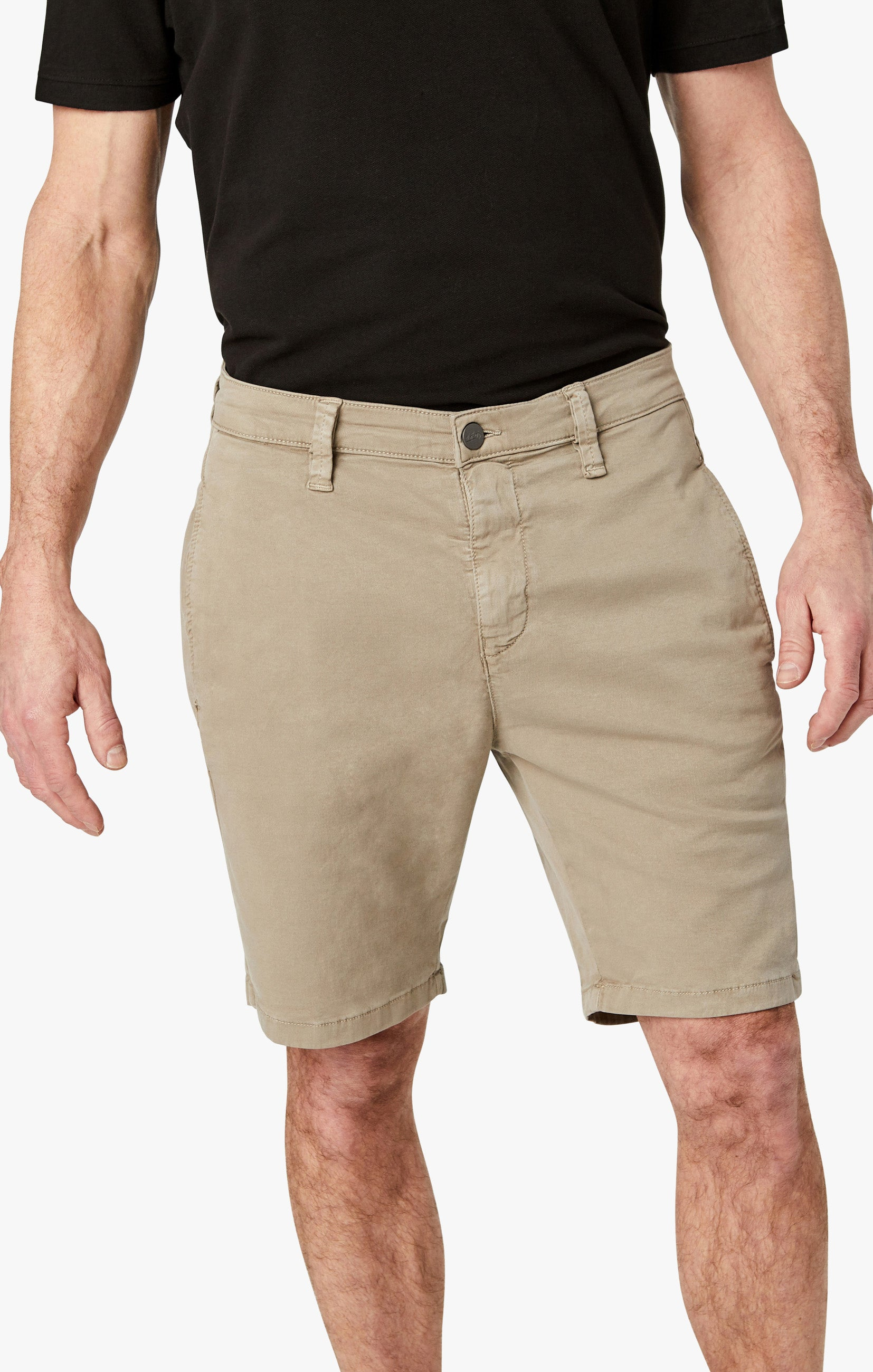 Nevada Shorts In Mushroom Soft Touch Image 8