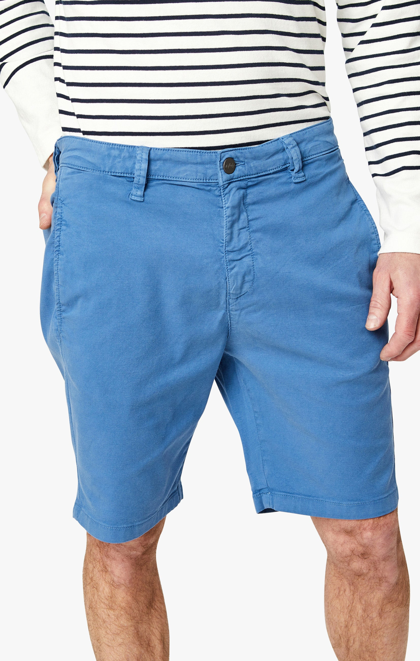 Nevada Shorts In Royal Soft Touch Image 8