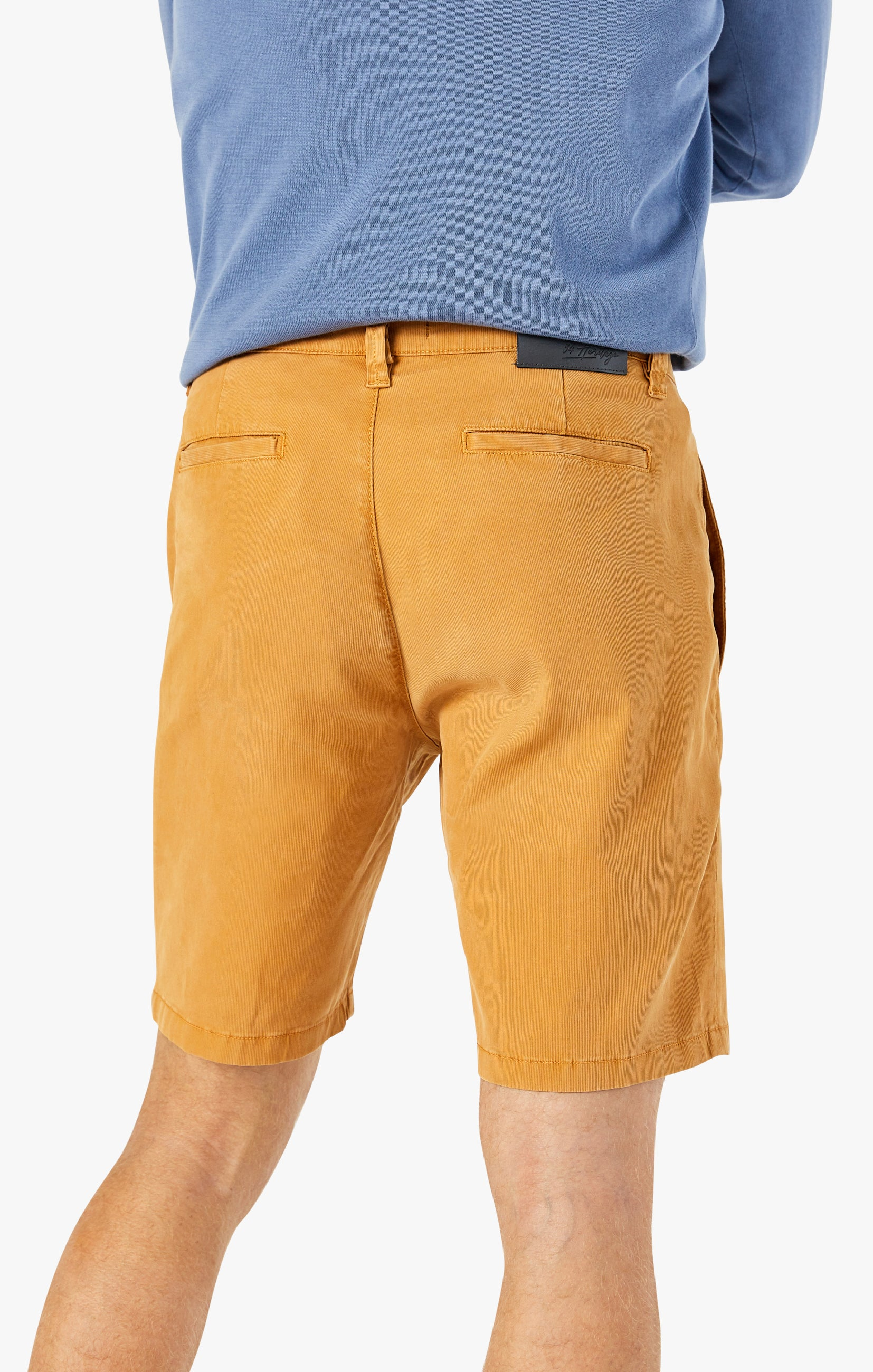 Nevada Shorts in Brown Sugar Fine Touch Image 3