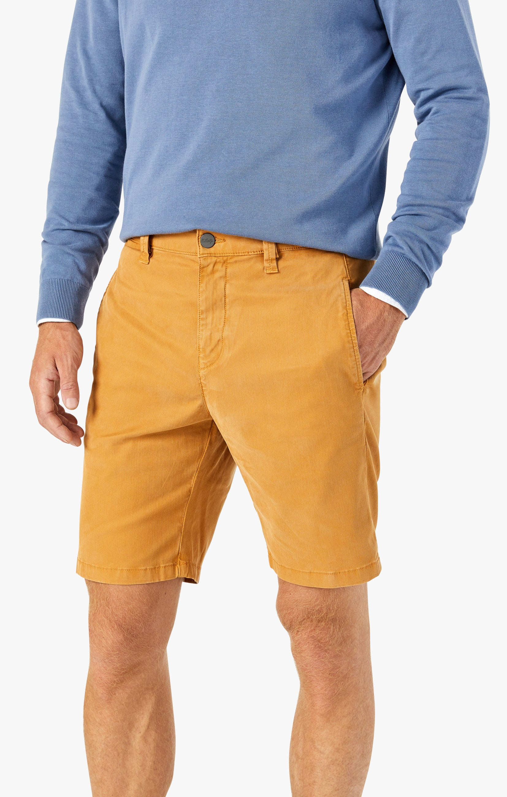Nevada Shorts in Brown Sugar Fine Touch Image 4