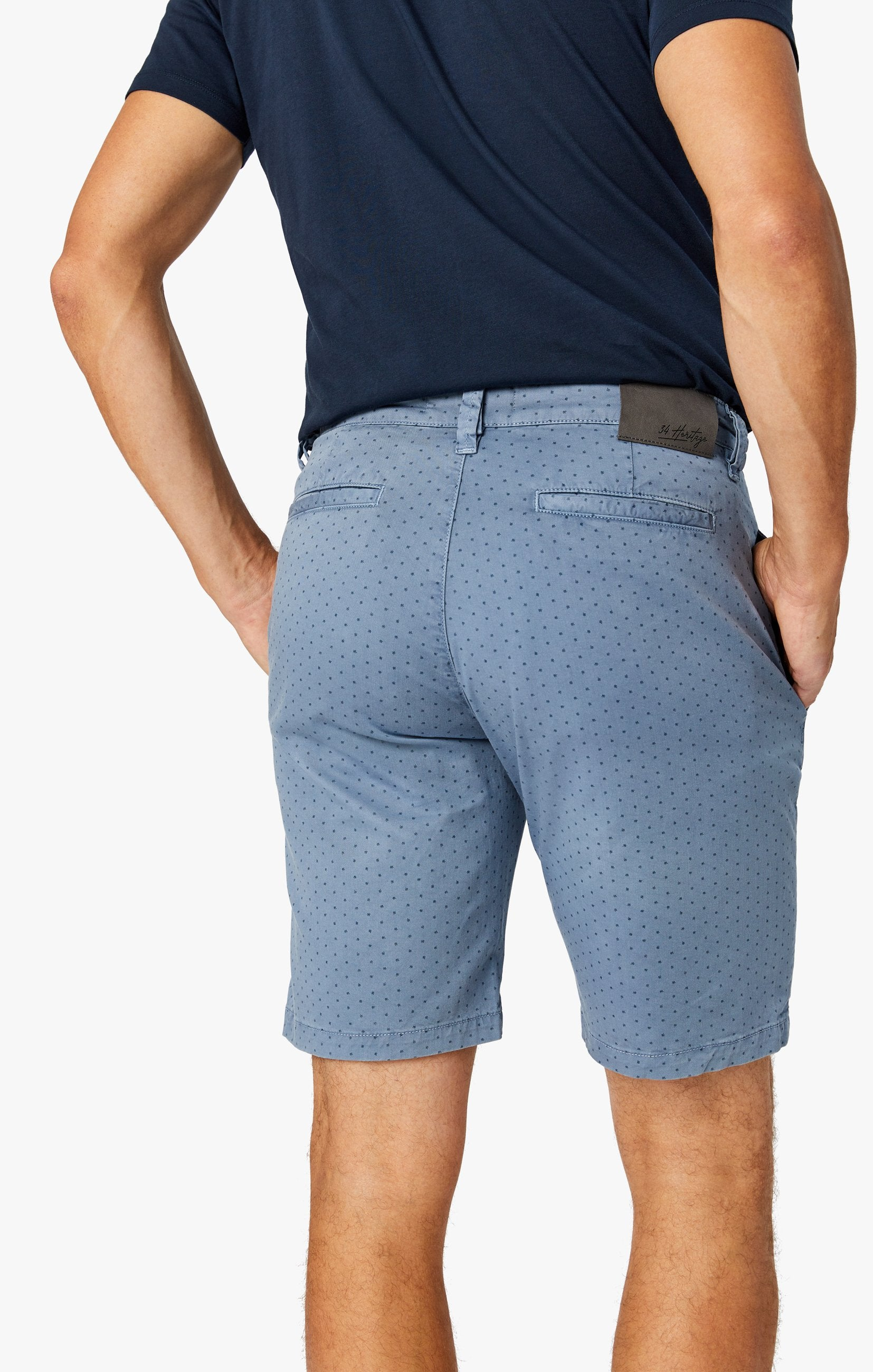 Arizona Slim Shorts in Blue Fancy Image 8