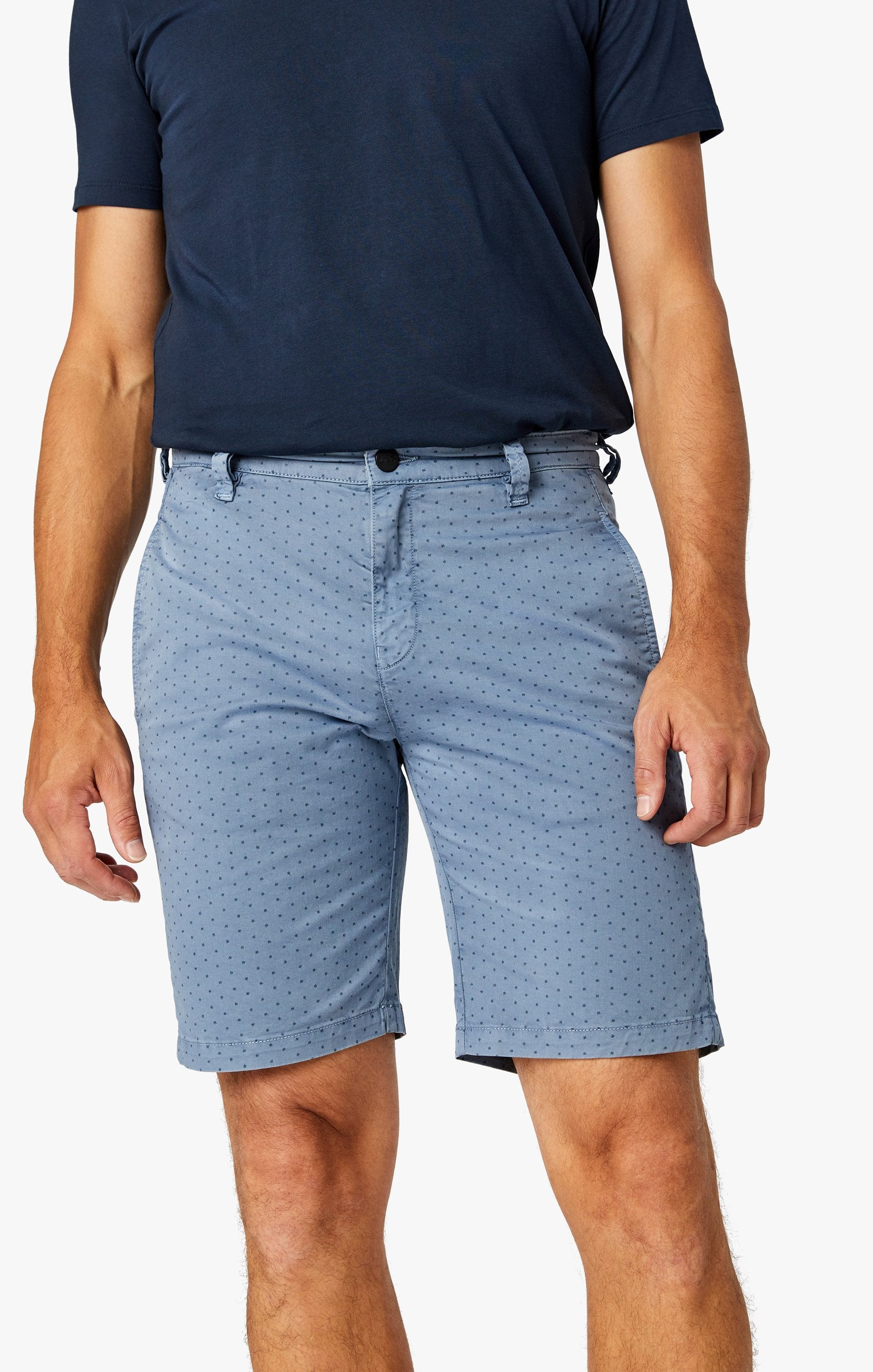 Arizona Slim Shorts in Blue Fancy Image 2