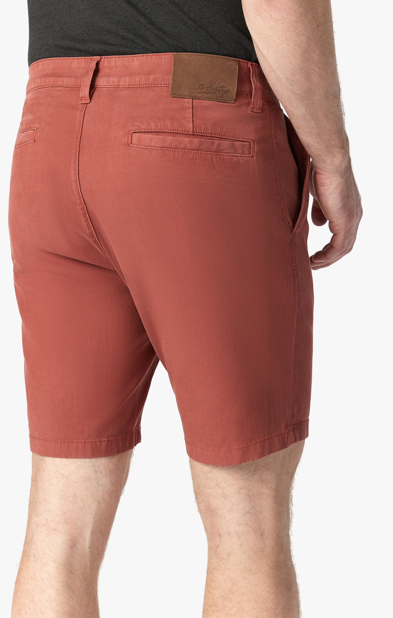 Arizona Shorts in Brick Fine Touch Image 5