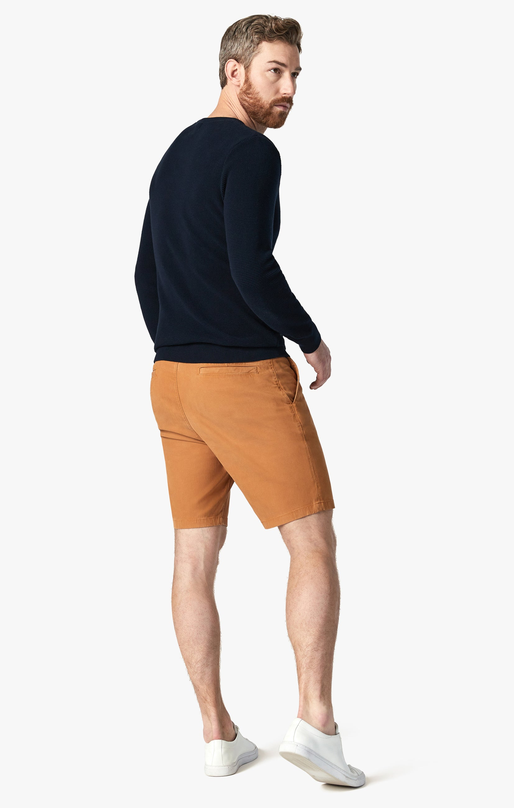 Arizona Shorts in Brown Sugar Fine Touch Image 6