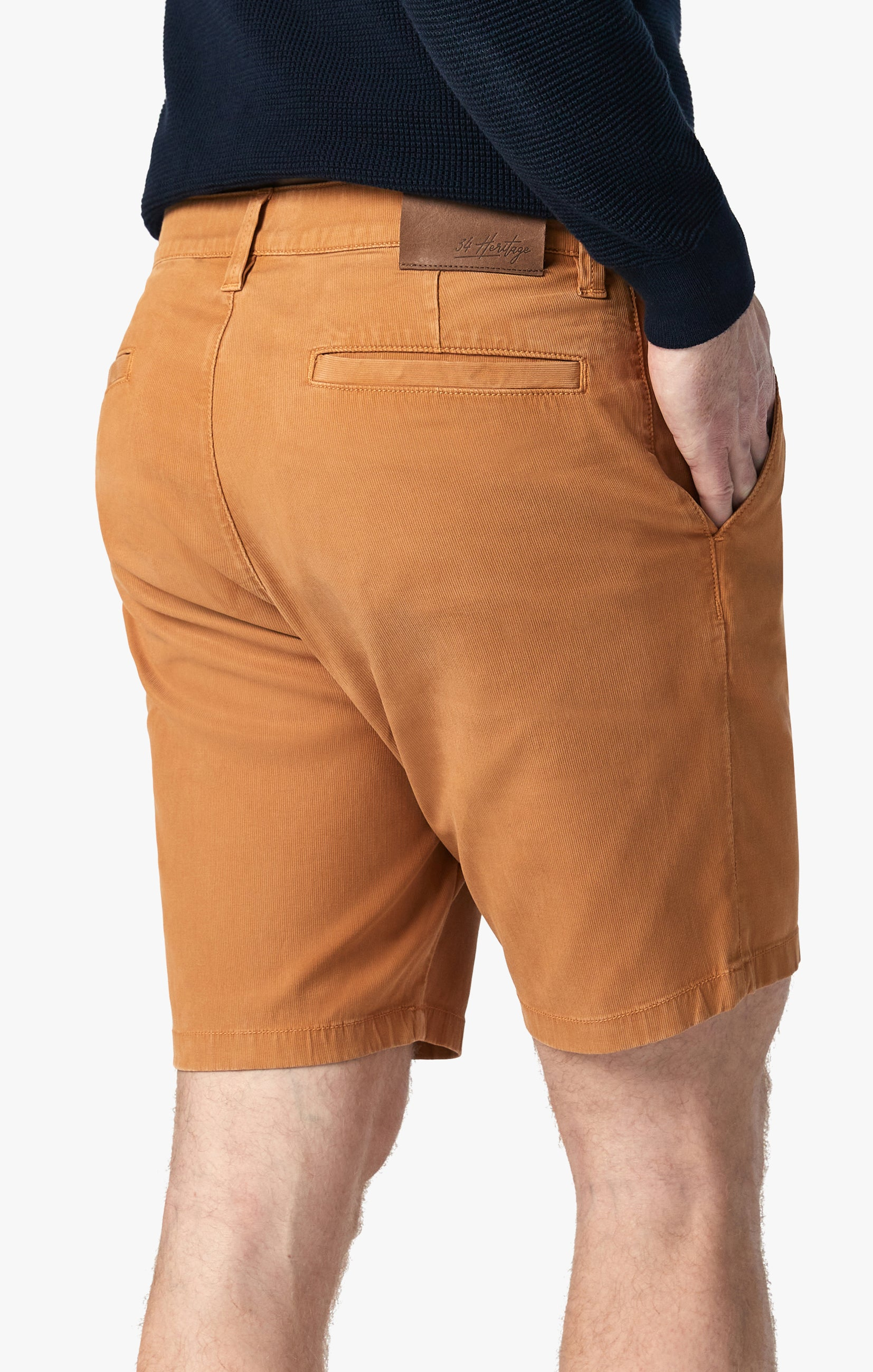 Arizona Shorts in Brown Sugar Fine Touch Image 5