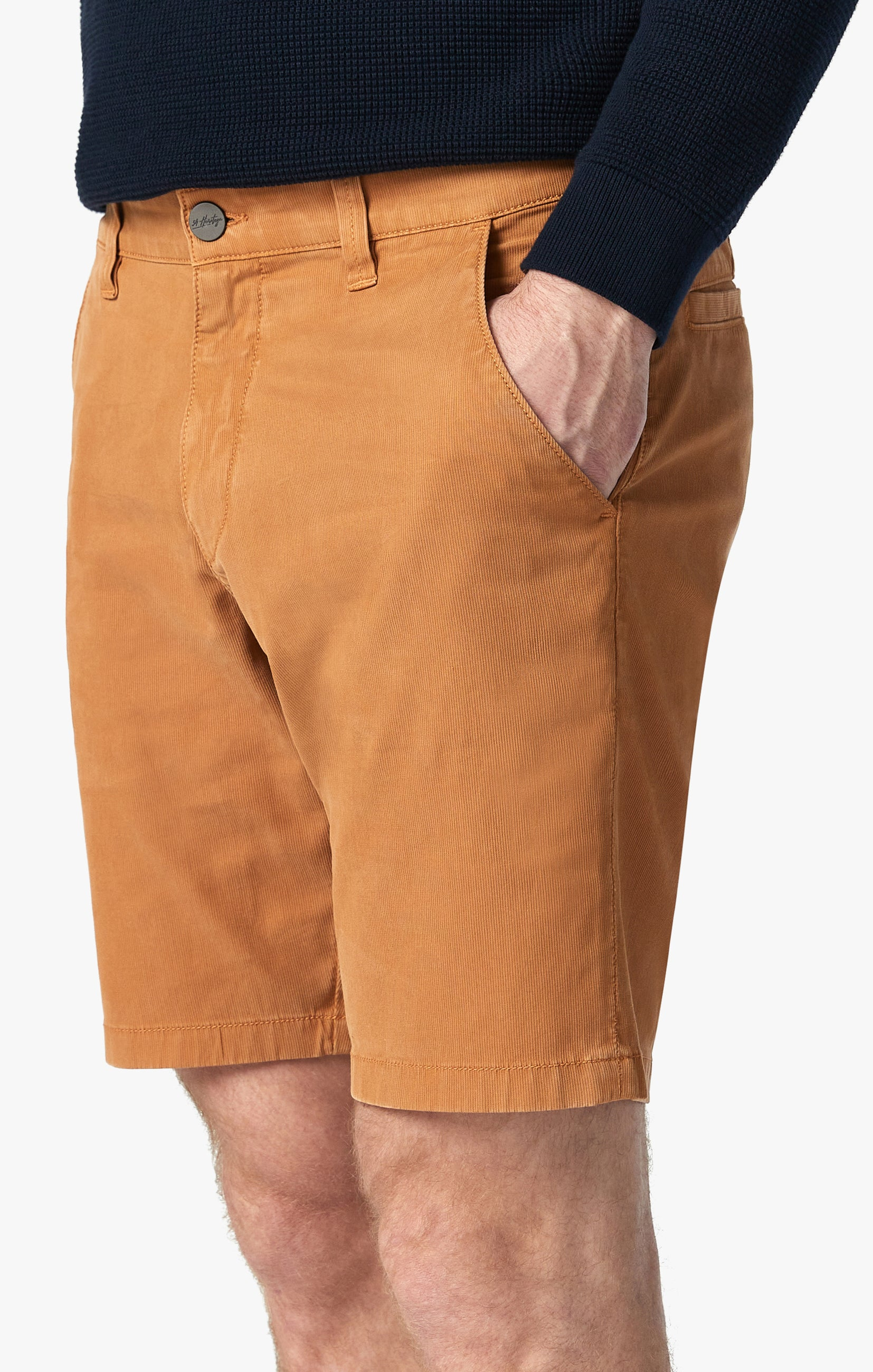 Arizona Shorts in Brown Sugar Fine Touch Image 4
