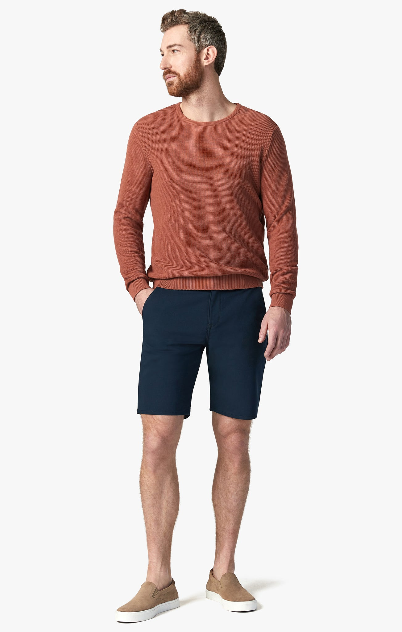 Como Commuter Shorts in Navy