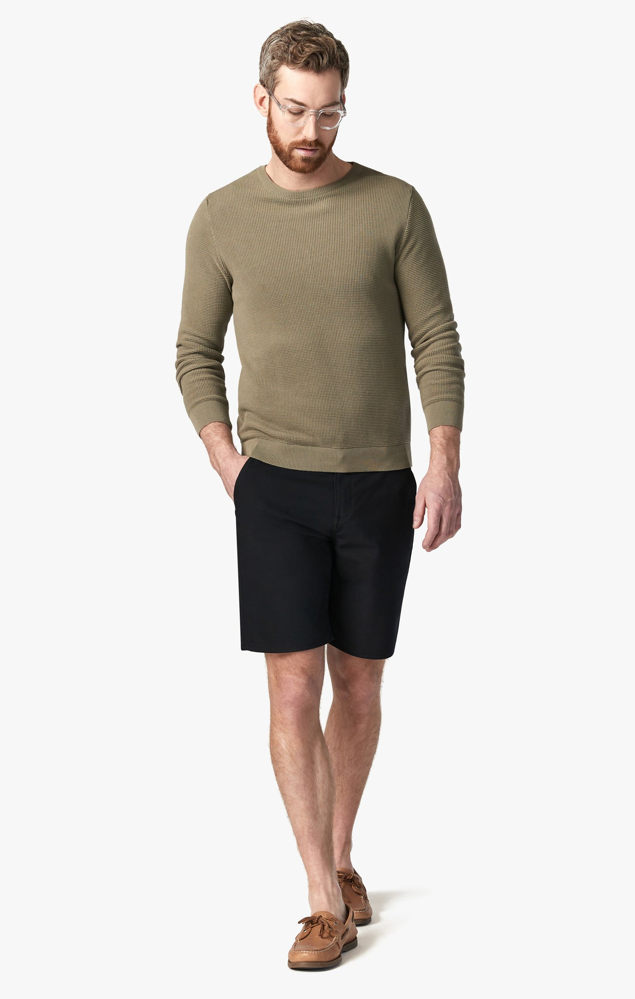 Como Commuter Shorts in Onyx