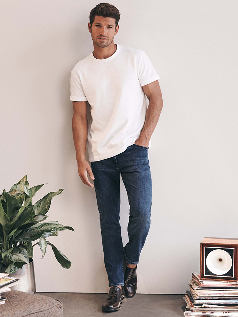 Charisma Relaxed Straight Jeans In Dark Indigo Ultra Image 1