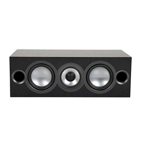 ELAC Uni-Fi 2.0 UC52 Center Speaker (Each), Black (UC52-BK)