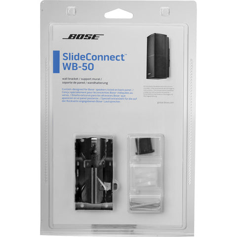 Bose Slide Connect WB-50 Wall Bracket (Black)