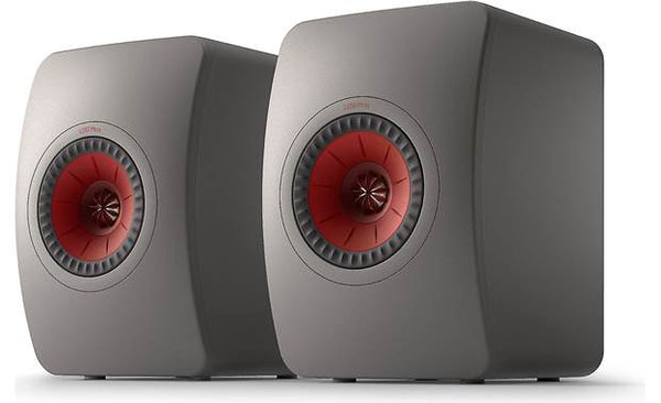 KEF LS50 Meta Bookshelf speakers LS50METAT (Titanium Grey, Pair)