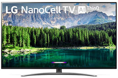 "LG 65SM8600PUA Nano 8 Series 65"" 4K Ultra HD Smart LED NanoCell TV (2019), Black (65SM8600)"