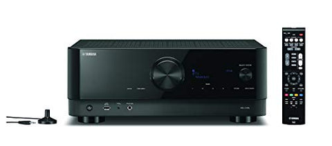 Yamaha RX-V4A 5.2 Channel 8K AV Home Theater Receiver with MusicCast