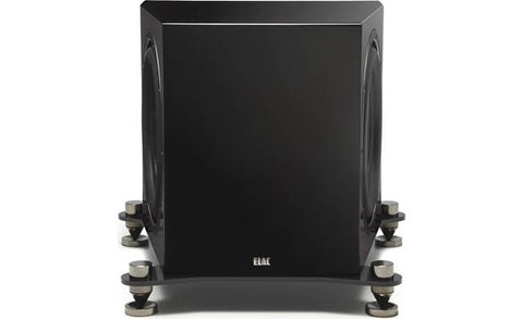 ELAC SUB3070 Powered subwoofer with Bluetooth® app control SUB3070-GB (Black, Each)