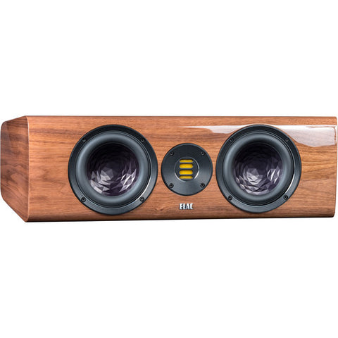 ELAC Vela CC 401 2.5-Way Center Channel Speaker (Gloss Walnut) VCC401-GN