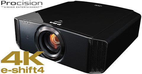 JVC DLA-X950R home theater projector with 1900 Lumens brightness and 4K e-shift4